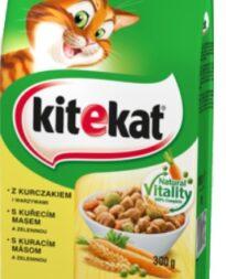 Sucha karma dla kota Kitekat