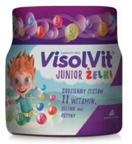 Witaminy dla dzieci Visolvit Junior Żelki